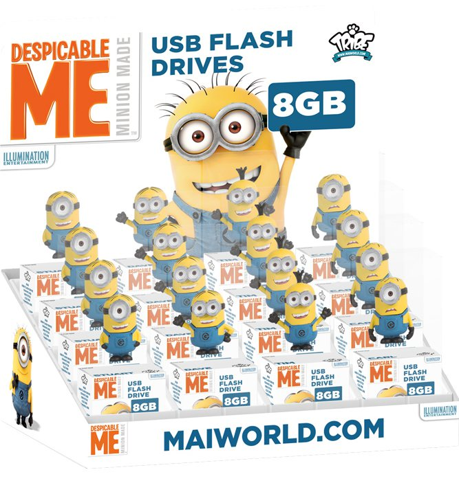 cl usb minion 8gb. Black Bedroom Furniture Sets. Home Design Ideas