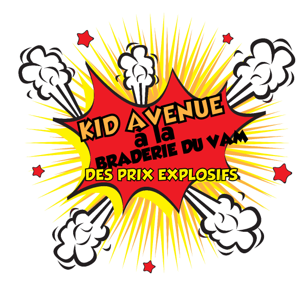 Braderie VAM 2013 kid avenue
