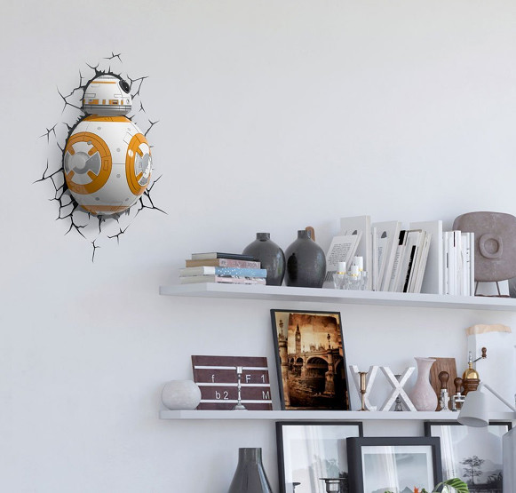 Applique murale 3d BB 8